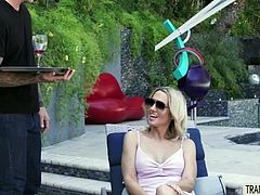 shemale,shemale-tranny,guyonshemale,shemale-blowjob,shemale-anal,shemale-cum,shemale-Horny pale TS Kayleigh Coxx is about to take advantage of her cheating with a permission card too. She picks up the hot hotel waiter Dane Stewart and fucks him harder than ever. Watch her enjoying the perfect moment with tattoed stud.