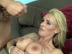 Tanya Tate is a trained councilor that specializes in taking the edge off for her clients. What these clients dont know is that Tanya does this by seducing them with her big tits and tasty pussy. In no time todays 100 appointment is rock hard and ready to cum all over her perfect tits after taking her pussy to pound town.