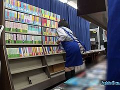 Hikaru Minazuki cute filthy Teen gets ambushed in book store, made to fuck all over the store. Chubby ass ripples as she does standing doggy, Login to members for the full movie $3.95 trial Join Now, 4500 scenes in members updated daily Exclusive Asian Teens.