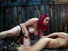 Bella managed to try a lot in bdsm experiments, but today's surprise from Fox Acecaria, became for the busty milf a real revelation. Multiple rope knots cover her curvy body, she is suspended in the air and if you want to see more juicy details, then join!